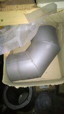 coude à 90 en acier 2mm gris d150 à
