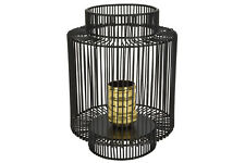 Lyyt Decorative Metal Frame Cage Table Lamp Wire Effect Vintage Retro Modern
