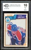 1983-84 O-Pee-Chee #29 Wayne Gretzky Card BGS BCCG 10 Mint+