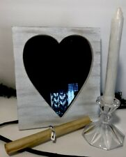 Heart Shape Scrying Mirror  Divination, Scrying 101 Candle And Candle Holder