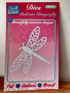 SWEET DIXIE DIE SDD275- DELICATE DRAGONFLY-USED TWICE- BEAUTIFULLY INTRICATE