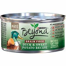 Premium Purina Beyond Grain Free, Natural, (12) 3 oz. Cans, Duck & Sweet...