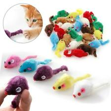 Cat Mice Toy Pet Furry Kitten Funny Playing Toys Rattle Mouse Interactive Catnip