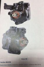 Power Steering Pump Vision OE 990-0766 Reman Subaru Legacy Impreza Outback WRX