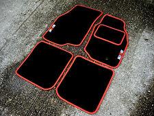 Nero / Rosso Tappetini Per Auto Sviluppo Di Mitsubishi Lancer 9 Evo IX +