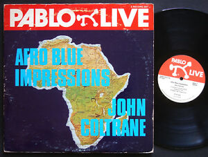 JOHN COLTRANE Afro Blue Impressions LP PABLO LIVE 2620 101 US 1977 McCoy Tyner
