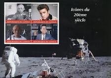 Congo 2018 MNH Einstein Elvis Presley Gandhi JFK Kennedy 4v M/S Space Stamps