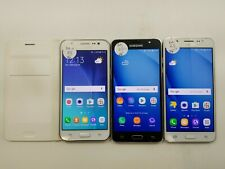 Lot of 3 Assorted Samsung Galaxy J5's Unlocked Check Imei Poor Condition 3-017