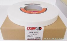 "CGW 14"" x 1-1/2"" x 5"" Surface Grinding Wheel, White Aluminum Oxide"