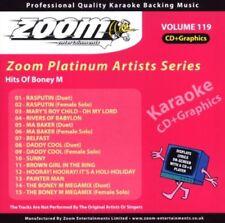 Zoom Karaoke Platinum Artists Vol. 119 CD+G - Hits Of Boney M