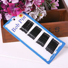 Lot 60Pcs Metal Bobby Pin Black Hairpin Women Hair Clip Grip Hair Accessories