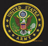 US ARMY EMBROIDERED HAT PATCH USA EAGLE LOGO SEAL CREST EMBLEM FORT VETERAN GIFT