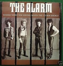 """The Alarm Where Were You Hiding 7"""" Single Picture Sleeve"""