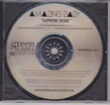 Amazing Baby - Supreme Being - Rare Radio Promo CD - 1207