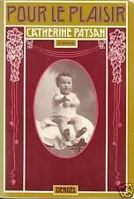 Livre pour le plaisir Catherine Paysan book