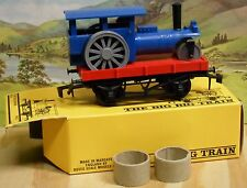 TRIANG THE BIG BIG TRAIN O GAUGE RV275 STEAM ROLLER WAGON, NEW OLD STOCK (861)