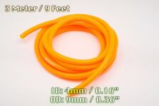 3 METRE ORANGE SILICONE VACUUM HOSE AIR ENGINE BAY DRESS UP 4MM FIT CITROEN
