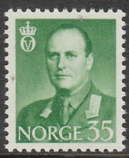 Stamp Norway Sc 0409 1962 King Olav V Folkekongen King of the People Norge MNH