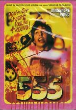 555 DVD Massacre Video Wally Koz 1988 SOV slasher cult uncut Jeffery Lyle Segal