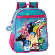 Disney INSIDE OUT - Small Backpack with Zipped Front Pocket Size: 23x28x10 cm