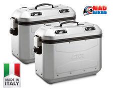 Givi DLM36 Trekker Dolomiti Panniers, Aluminium Side Cases A Pair) DLM36APACK2