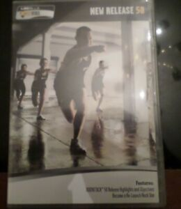 Les Mills Body Attack Release 58 DVD, CD and Notes Workout Fitness Exercise