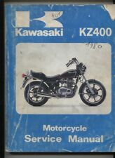 N°52 /  KAWASAKI KZ 400   service manual english text august 1980