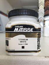 Matisse Structure Acrylic Titanium White 250ml
