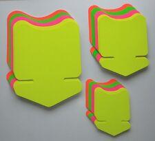 60 Pfeile in 3 Größen 4 Farben Preisschild Karton Neon Werbung deko Schaufenster