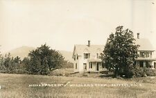 A View of Woodland Farm, Mount Monadnock In The Distance, Jaffrey NH RPPC