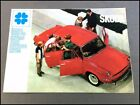 1969 Skoda 1000MB Vintage Original Car Sales Brochure Folder