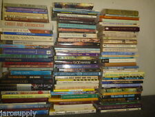 Lot of 20 Christian Prayer Bible Jesus Christ Stories Religion Book MIX UNSORTED