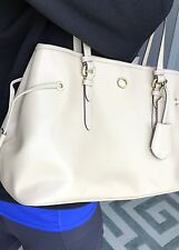 AUTHENTIC XLNT COACH PEYTON SAFFIANO LEATHER LARGE CARRYALL TOTE BAG PURSE $378