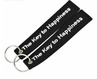The Key to Happiness Key Chain Bijoux Keychain for Motorcycles and Cars Gift Tag