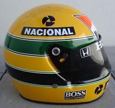 AYRTON SENNA 1988 -- Excelent Replica Helmet 1:1 Scale !!!