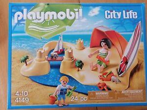 Playmobil 4149 Kompaktset Strandurlaub