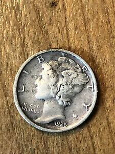 1926D Mercury Dime XF