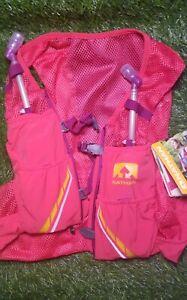 Nathan Women's VaporMag 2.5 L Race Vest, Sz L , NWT w/ hydration bottles