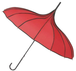 Collectif Everly Vintage Red Umbrella