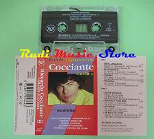 MC RICCARDO COCCIANTE I grandi successi vol.2 1997 italy RCA no cd lp dvd vhs
