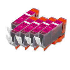 5 PK MAGENTA Ink w/ CHIP for CLI 226 M Canon Pixma MG5220 MG5320 MG6120 MG6220