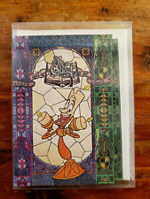 Disney Store Cast Member Exclusive Be Our Guest Lumiere Notecards
