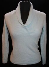 Old navy Womens Cashmere Sweater Sz S Light Mint Green V-neck