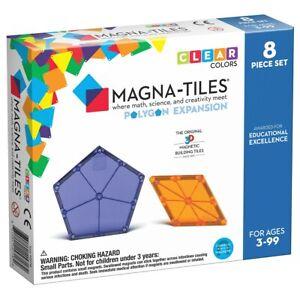 Magna-Tiles Polygons Expansion Set - 8 Piece Set