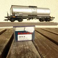 Electrotren 5876 K H0 Kesselwagen 4-achsig Telematik On Rail der DB Epoche 5/6