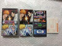 Bleach Heat the Soul 6 Sony PSP Region Free Japan Video Game