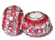 Charm. Perle für Sammelarmband. Bead. Bettelarmband. Schliffsteine 925er Silber