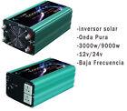 convertisseur solaire 3000W LF Onde Pur Du Son DC 24V/12V à AC 230V