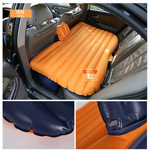 Car Travel Inflatable Air Mattress Bed with Pillow for Camping,outdoor mattress