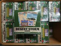 Factory Sealed 1991 Pro Set Desert Storm Series 1 Trading Card Case 20 Boxes